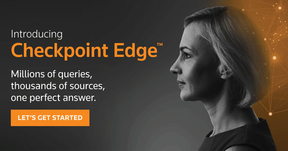 Introducing Checkpoint Edge. Millions of queries, thousands of sources, one perfect answer. Let's get started