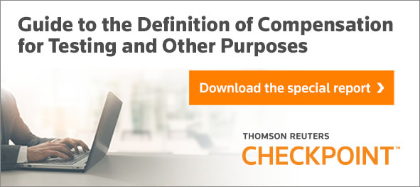 Guide to the Definition of Compensation for Testing and Other Purposes. Download the special report